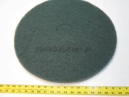 "19"" 3M 5300 Polyester Floor Cleaner Scrubbing Pads 5 Pack NE"