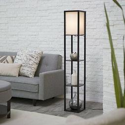 Adesso 3138-01 Wright 63 In. Floor Lamp - Smart Switch Compa