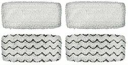 4 Washable Mop Pads for Bissell 1252 Symphony Hard Floor& St