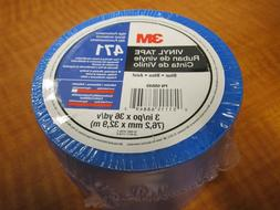 "3M 68849 High Performance Solid Blue Floor Marking Tape 3"" W"