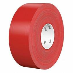 "3M 971 3"" Solid Red Floor Marking Tape"