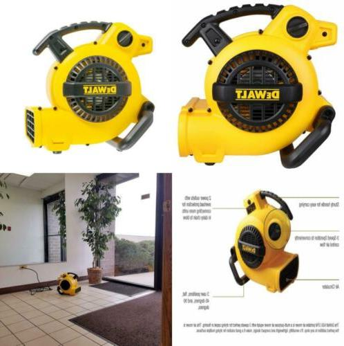 Portable Air Compressor Mover Floor Dryer 600 Cfm Two Power