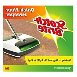 Quick Floor Sweeper in White / Green