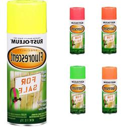 Rust-Oleum 11-Ounce Bright Fluorescent Neon Glowing All Surf