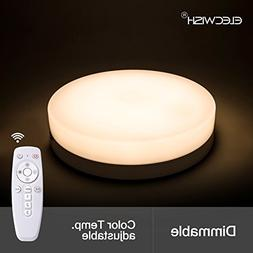 24W Smart LED Lamp Ceiling Flush Mount Light Wireless Remote