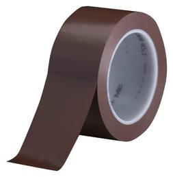 3M Vinyl Tape 471 Brown, 3 in x 36 yd, Conveniently Packaged