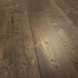 Wide Plank French Oak Wood Flooring, Old Mexico, Prefinished